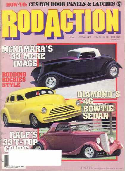 Rod Action - October 1987