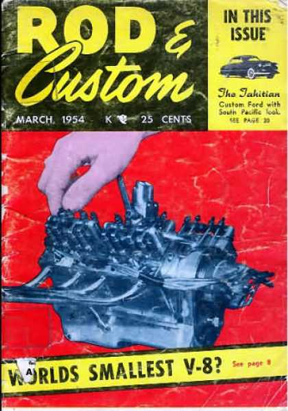 Rod & Custom - March 1954