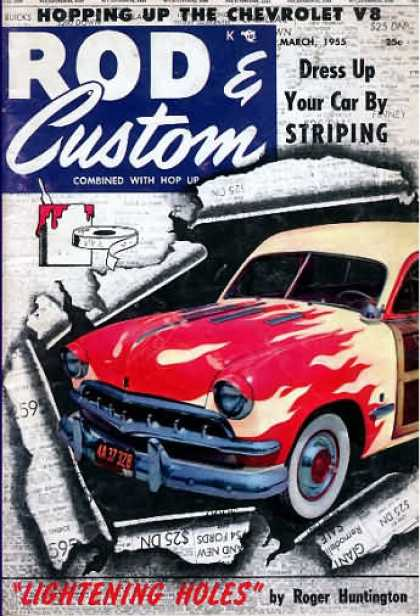 Rod & Custom - March 1955