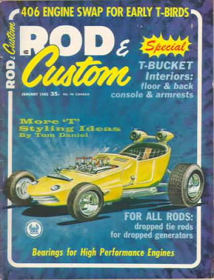 Rod & Custom - January 1965