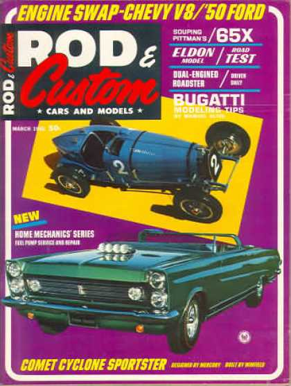 Rod & Custom - March 1965