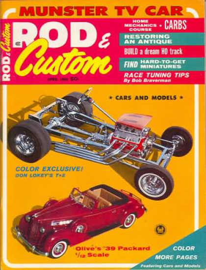 Rod & Custom - April 1965