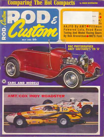 Rod & Custom - July 1965