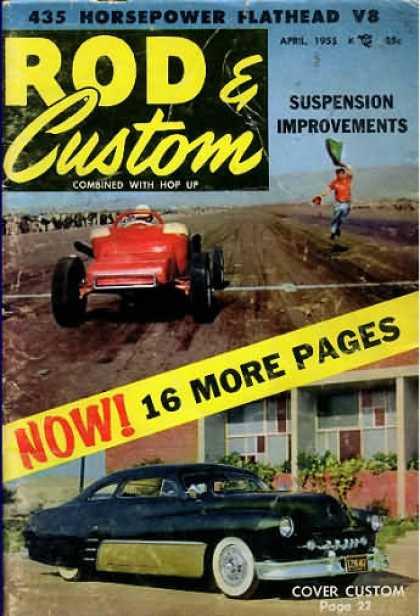 Rod & Custom - April 1955