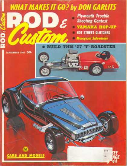 Rod & Custom - September 1965
