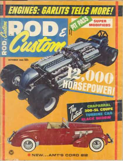 Rod & Custom - October 1965