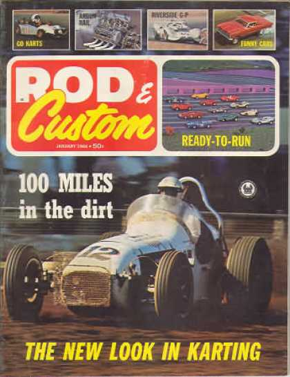 Rod & Custom - January 1966