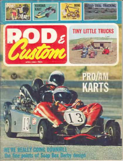 Rod & Custom - April 1966