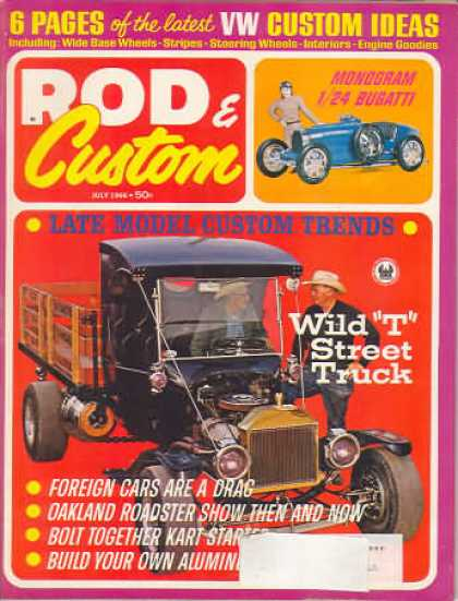 Rod & Custom - July 1966