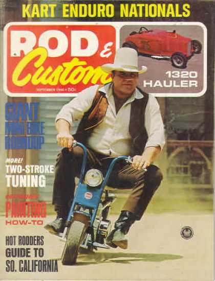 Rod & Custom - September 1966