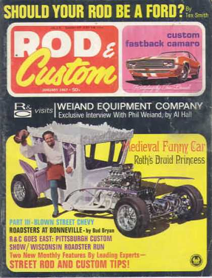 Rod & Custom - January 1967