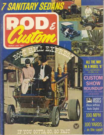 Rod & Custom - March 1967