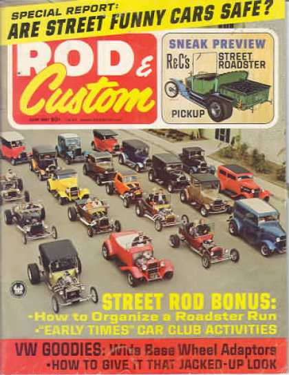 Rod & Custom - June 1967