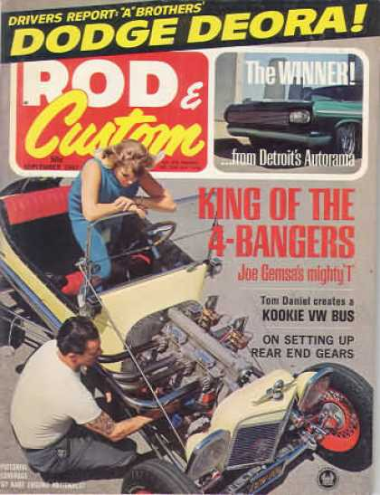 Rod & Custom - September 1967