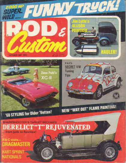 Rod & Custom - October 1967