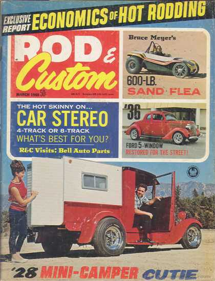 Rod & Custom - March 1968