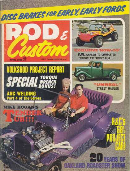 Rod & Custom - April 1968
