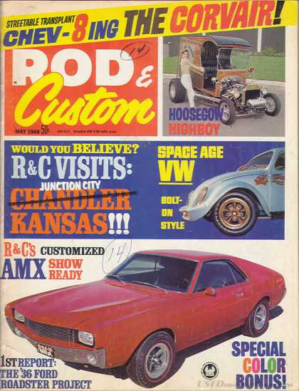 Rod & Custom - May 1968