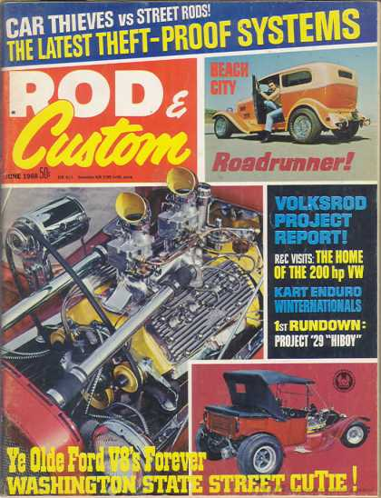 Rod & Custom - June 1968