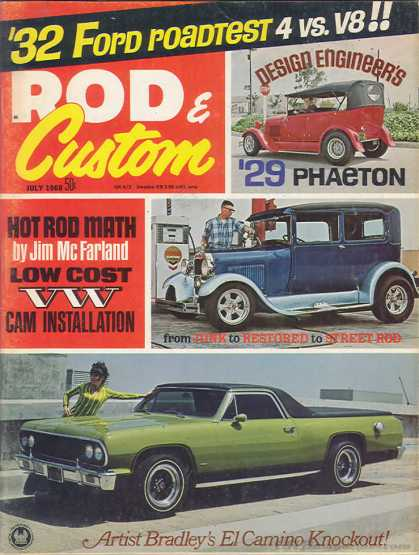 Rod & Custom - July 1968