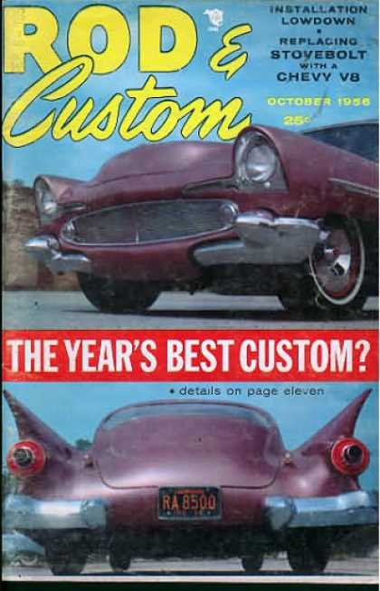 Rod & Custom - October 1956