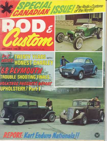 Rod & Custom - September 1968