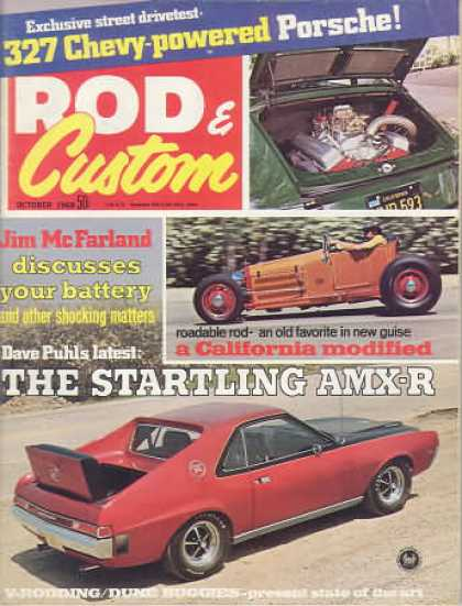 Rod & Custom - October 1968