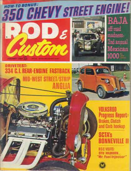 Rod & Custom - January 1969