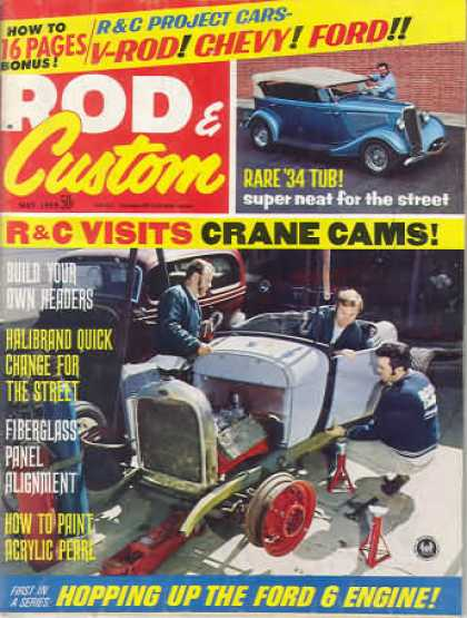 Rod & Custom - May 1969