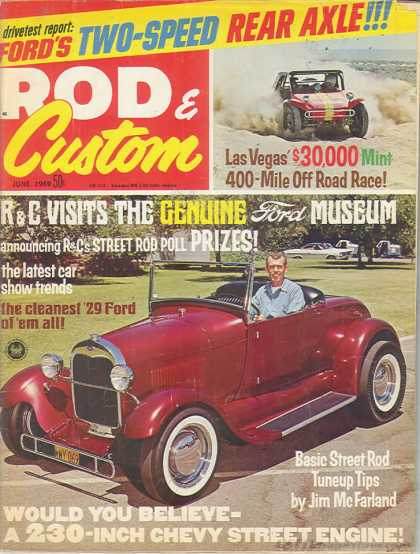 Rod & Custom - June 1969