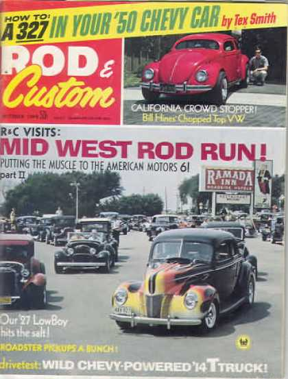 Rod & Custom - October 1969