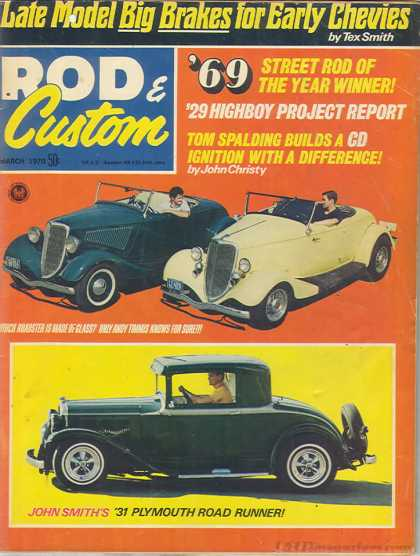 Rod & Custom - March 1970