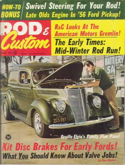 Rod & Custom - April 1970