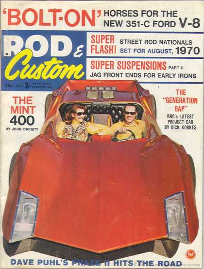 Rod & Custom - June 1970