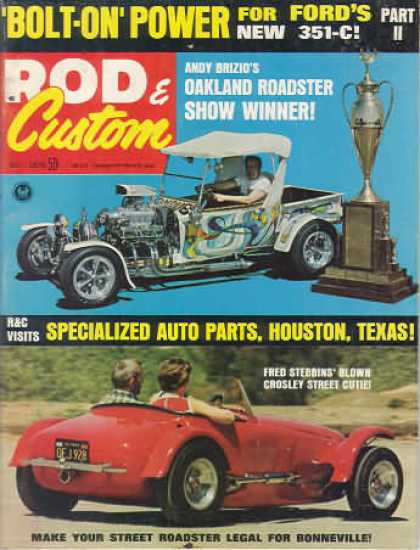 Rod & Custom - July 1970