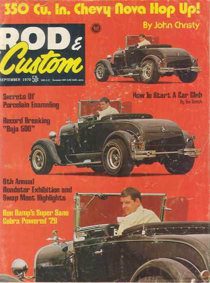 Rod & Custom - September 1970