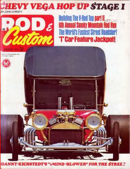 Rod & Custom - January 1971