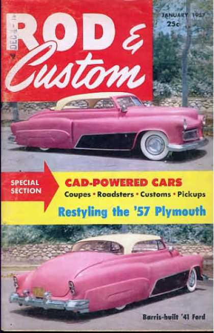 Rod & Custom - January 1957