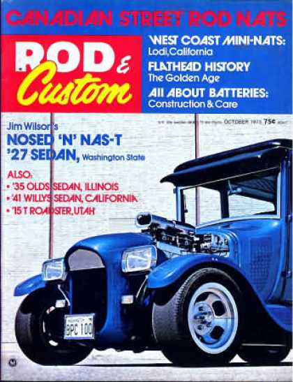 Rod & Custom - October 1973
