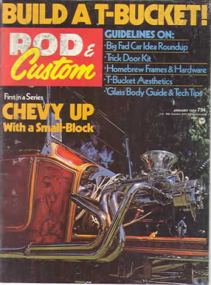 Rod & Custom - January 1974