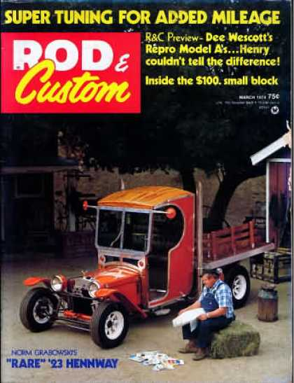 Rod & Custom - March 1974