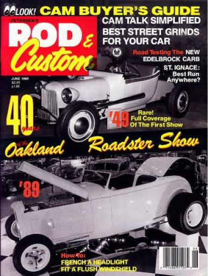 Rod & Custom - June 1989