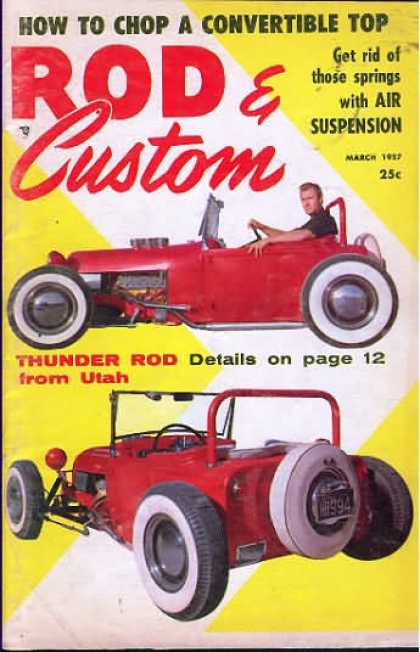 Rod & Custom - March 1957