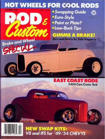 Rod & Custom - October 1989