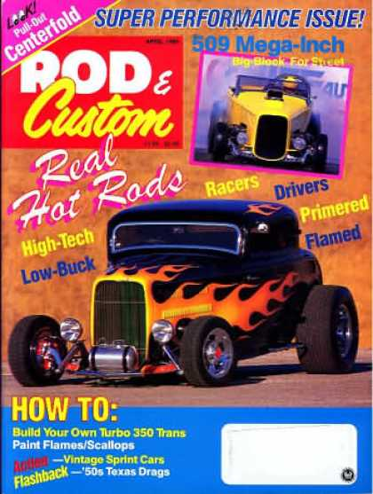 Rod & Custom - April 1990