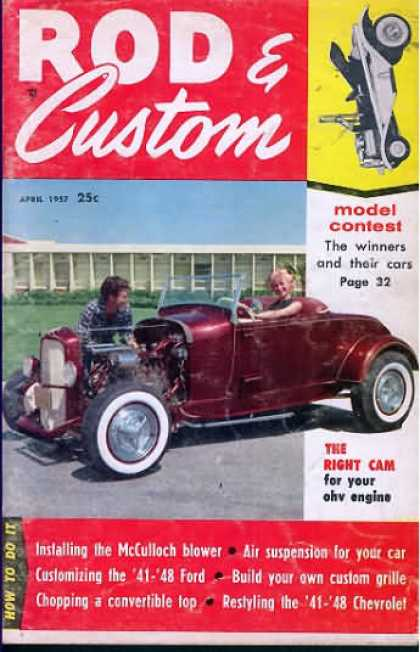 Rod & Custom - April 1957