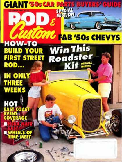 Rod & Custom - October 1991