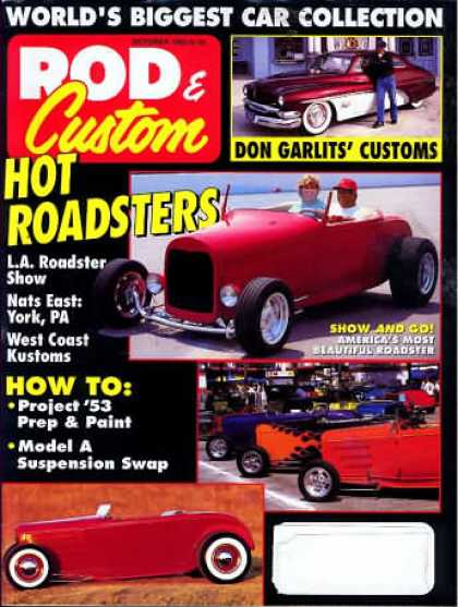 Rod & Custom - October 1992