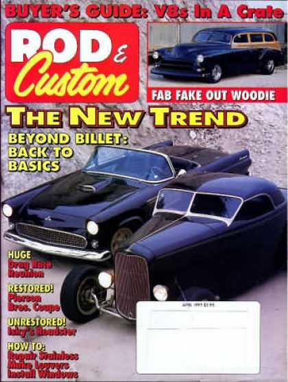 Rod & Custom - April 1993