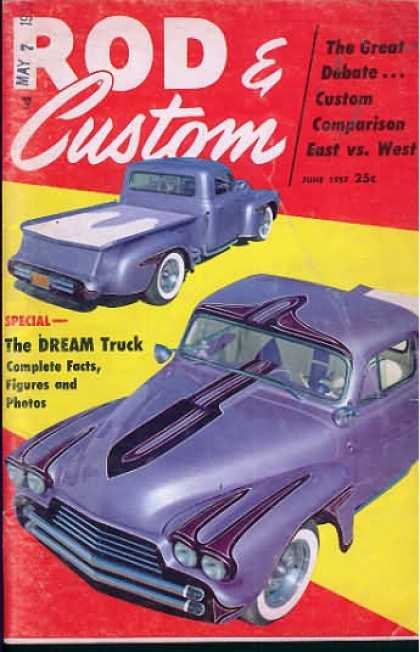 Rod & Custom - June 1957
